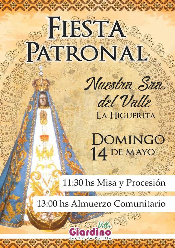 14 De Mayo Fiesta Patronal En Honor A Nuestra Señora Del Valle